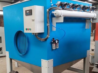 工业粉尘收集处理滤筒除尘净化器