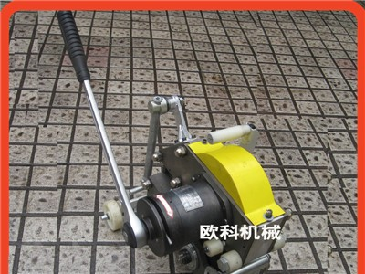 井下手动输送带切割机机械式钢丝绳皮带切割机