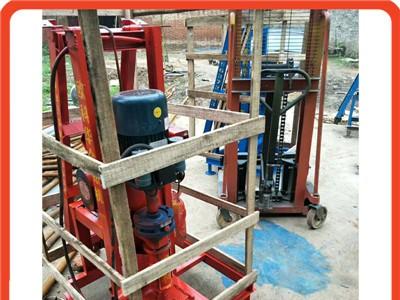 室内折叠便携打井机家用小型电动打井机 可以打岩石的钻井机