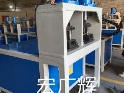 宏广辉液压多功能机械C型不锈钢管材护栏压抢尖