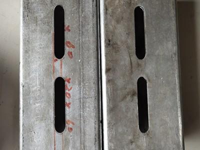 宏广辉双工位液压货架冲孔机方管数控冲孔机全自动切割机