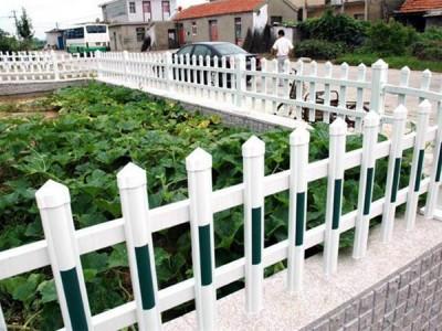 新乡草坪护栏 pvc栏杆 花园防护栏 新力厂家直销
