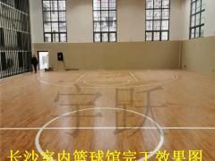 篮球场木地板结构构成