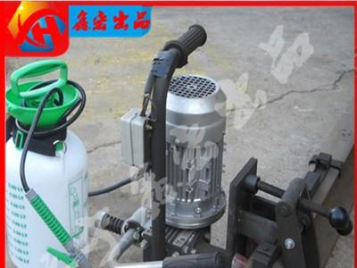 NZG-23内燃式汽油钢轨钻孔机 轨道专用内燃打孔机