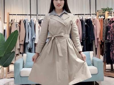 贝芙妮2020年春新款优雅女士裙子 外贸爆款品牌折扣女装货源