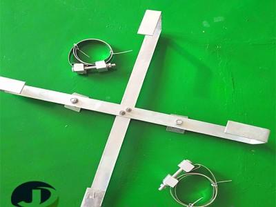 山东聚源电力光缆设施 杆用余缆架热镀锌余缆架