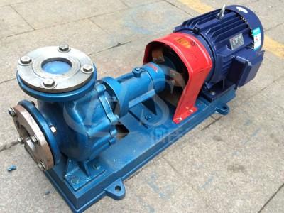 金海泵业卧式循环离心热油泵夹层保温