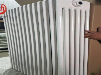 钢制钢六柱散热器qfgz606钢管串片暖气片