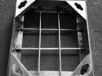 雨水篦子不锈钢装饰井盖 消防草坪不锈钢装饰井盖