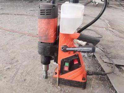锅炉磁力钻多功能东成无极调速钻孔机 钢板取芯麻花钻头