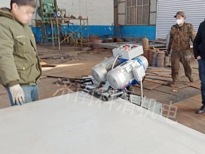 沧州重型管道铣边机大型卷板坡口机