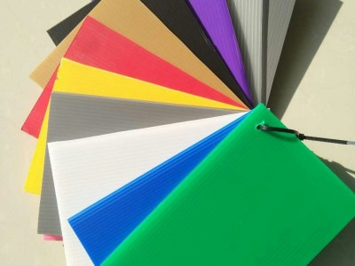野狼社区必出精品直销PP板材塑料板 白色蓝色黑色塑料中空板各种厚度PP板