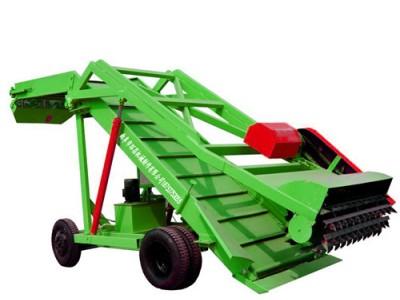 新疆养殖青贮取料机 取草机 7米扒草料机
