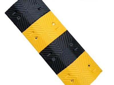 交通设施人字型橡胶减速带 道路口减速慢行路牙子
