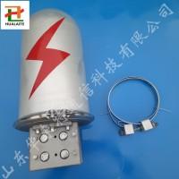 杆用铝合金接头盒 金属接线盒 帽式铝合金接头盒
