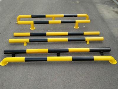 u型钢管挡车杆 停车场倒车防护车轮防撞栏