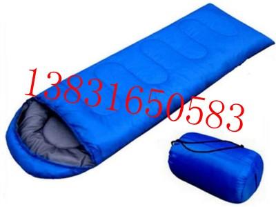 信封式户外保暖睡袋单人信封旅行户外睡袋登山野营露营保暖睡袋