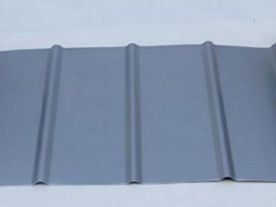 扇形铝镁锰板 弯弧板 异形铝镁锰屋面板生产安装