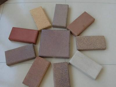烧结砖的主要性能表现