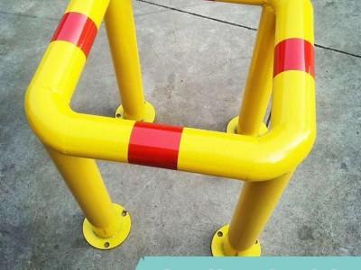 消防栓安全保护套 口字型钢管防撞栏 夜间带反光效果