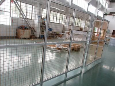 工业铝型材围栏-澳宏铝业 设计-加工-组装