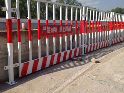 临边工地安全围蔽 施工隔离竖管基坑护栏