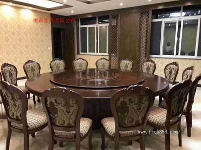 酒店餐桌椅 大理石电动桌 自动转盘大圆桌  电动大圆桌