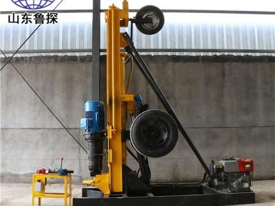 鲁探供应KQZ-200D各种潜孔钻机水平打孔机开山气动钻机