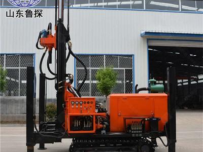 FY-200履带式气动水井钻机200米农村打水井机器日钻百米