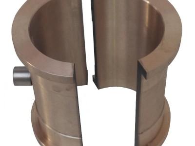 铜铸件 锡青铜合金材质 挖掘机铜轴瓦金属型铸造工艺