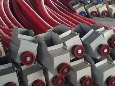 螺旋吸粮机 软管自动运输收粮机 车载式移动抽粮机