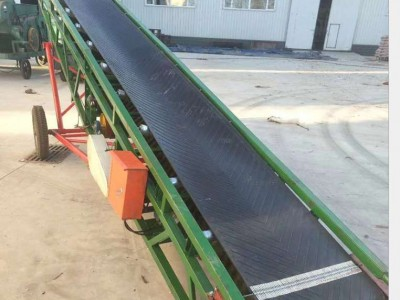 皮带输送机 粮食输送水泥砂石输送设备 移动物料皮带输送机