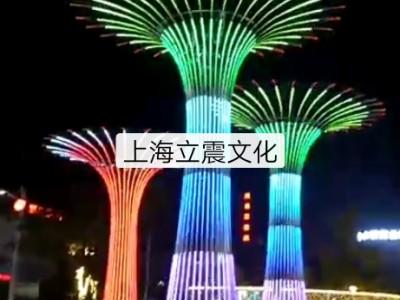 超大型炫彩灯光许愿树出租新版动态许愿树出售定制厂家