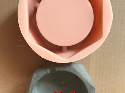 旭日东升家居硅胶模具 假山流水喷泉摆件硅胶模具