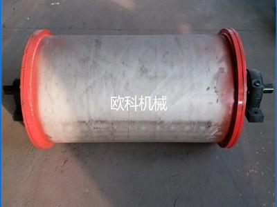 半磁滚筒除铁器 钕铁硼强磁滚筒 永磁自动磁滑轮