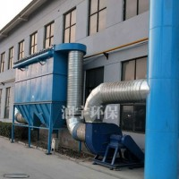 青海袋式除尘设备制造公司_润宇公司_定制铸造厂除尘器