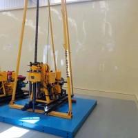 液压水井钻机160米农用钻孔机地质勘探取芯钻机家用打井机