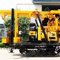 履带地质勘探钻机230米钻机配件打井机钻井机 小型家用打井机