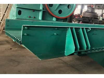 河南厂家供应高效石灰石振动给料设备