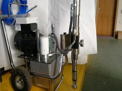 多功能大功率高压无气小型喷漆机 全自动腻子粉墙抹灰机