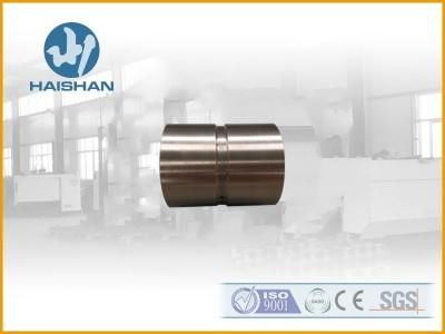 新乡海山 机械设备铜铸件 注塑机衬套离心浇铸锡青铜材质