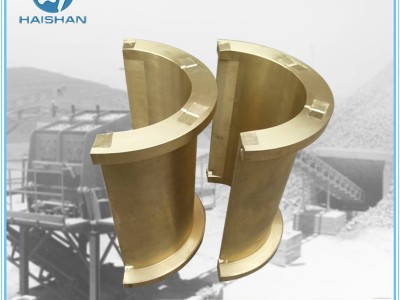 ZQAl10-3铜轴瓦 衬瓦加工回转窑铜瓦铸造厂非标定做