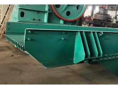 焦作厂家供应高效率石灰石振动给料设备