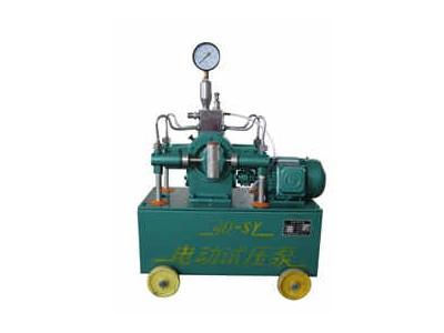 试压泵应严格按照操作过程的要求执行
