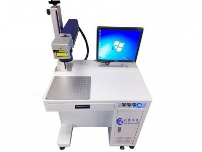 IC芯片 晶片 电子元器件激光打标设备厂家直供可免费打样