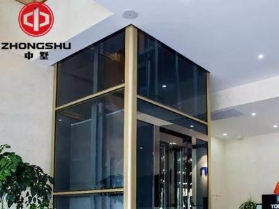 四川中墅无机房曳引式家用/别墅电梯自动门家用电梯