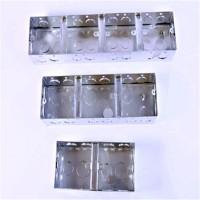 现货供应双联合-三联盒JBD穿线管DN镀锌管金属软管