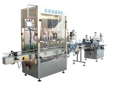 内蒙古乌兰察布市鑫朋宇食用油灌装生产线|润滑油灌装生产线