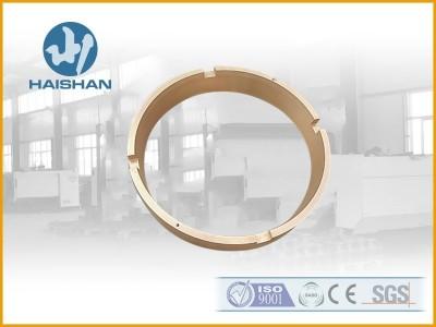 厂家专业生产圆锥破碎机铜配件 锡青铜动锥上衬套材质