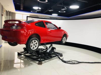 真车改装汽车驾驶模拟器-实车动感汽车驾驶模拟器